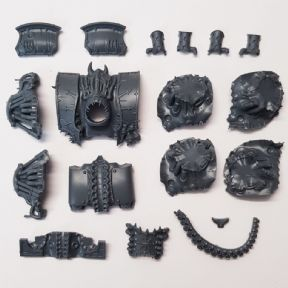 Chaos Space Marine Hellbrute Torso Assembly